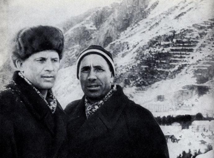 Федор Терентьев и его тренер Андрей Карпов